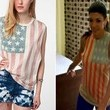 Teresa Giudice's American Flag Tank on 'The Real Housewives of New Jersey'