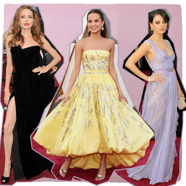 Stunning Oscars Red Carpet Looks Through The Years