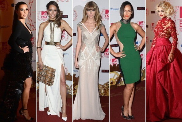 Best & Worst Dressed - MTV European Music Awards 2012