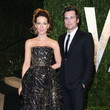 Kate Beckinsale Wore Monique Lhuillier at the Vanity Fair Oscars Party 2013
