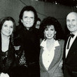 June Carter, Johnny Cash, Marie Osmond and Robert Duvall's Double Date in 1991