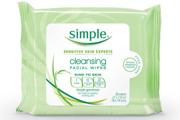 Freshen Up in a Pinch with Simple's Cleansing Wipes