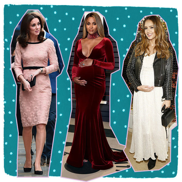The Best Celebrity Maternity Outfits of 2017