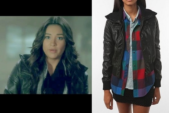 Shay Mitchell's Bomber Jacket on 'Pretty Little Liars'