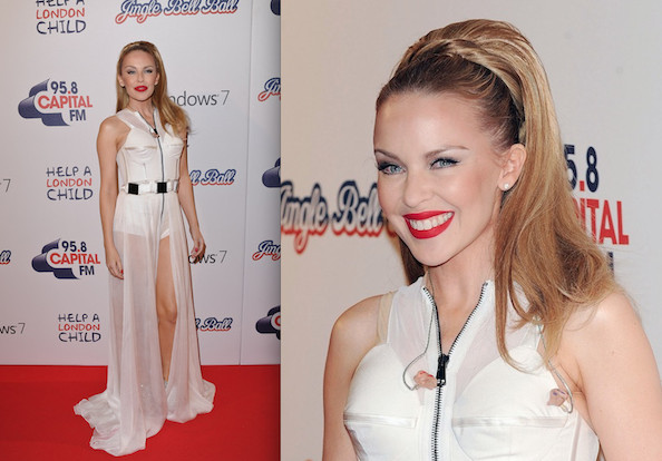 Hot or Not: Kylie Minogue's Zippered Mullet Jumpsuit