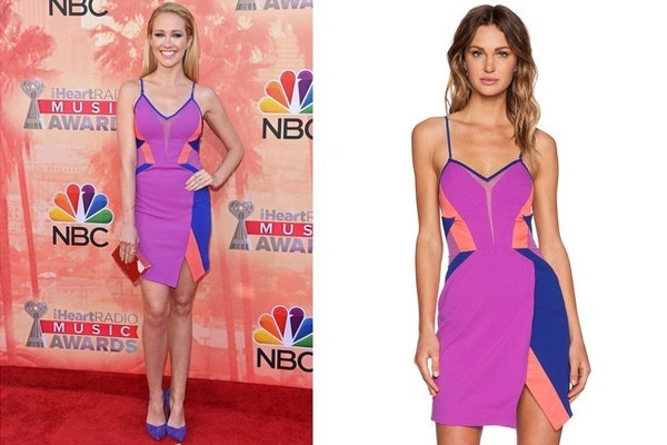 Found: Anna Camp's Color-Blocked Dress