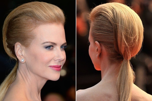 7 the futuristic ponytail 10 easy ways to dress up your