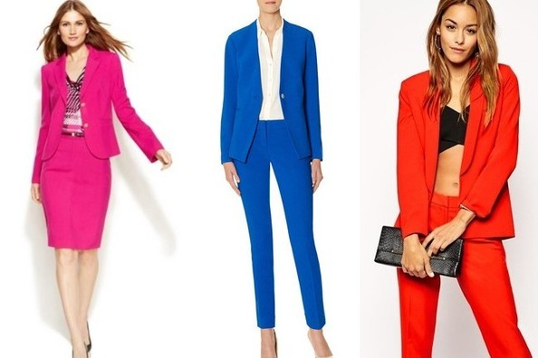 Trend to Try: Colored Suits