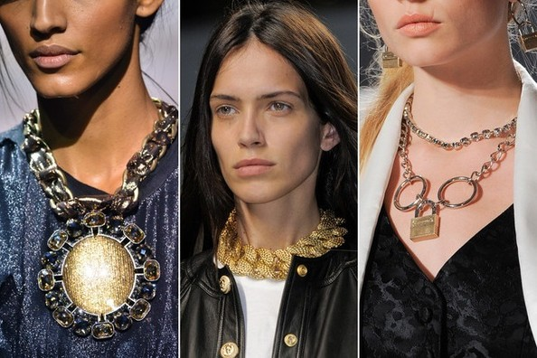 Fashion Trend Report: Gold Chain Necklaces