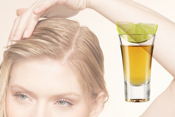 Happy Hour Hair Treatment: Spicy Tequila Scalp Toner