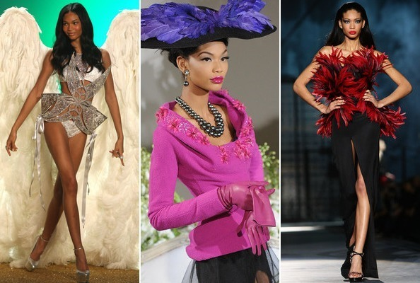 Chanel Iman's Runway Career