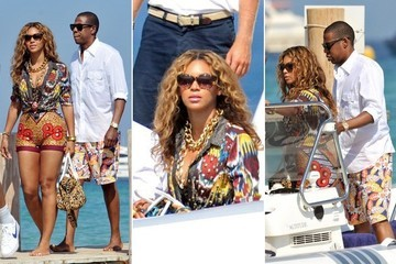 #TBT: That Time Bey Killed It With Mixed Prints