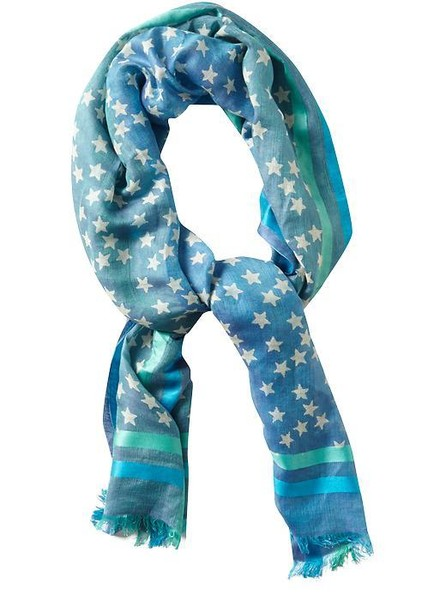 Where to Buy Heidi Klum's Star-Print Scarf