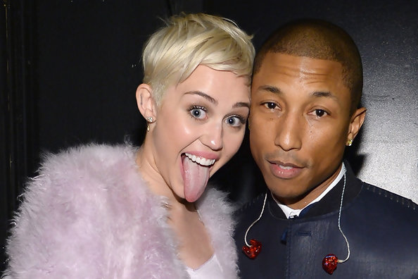 Miley Cyrus Tones it Down for Pharrell