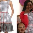 Mindy Kaling's Printed Fit-and-Flare Dress on 'The Mindy Project'