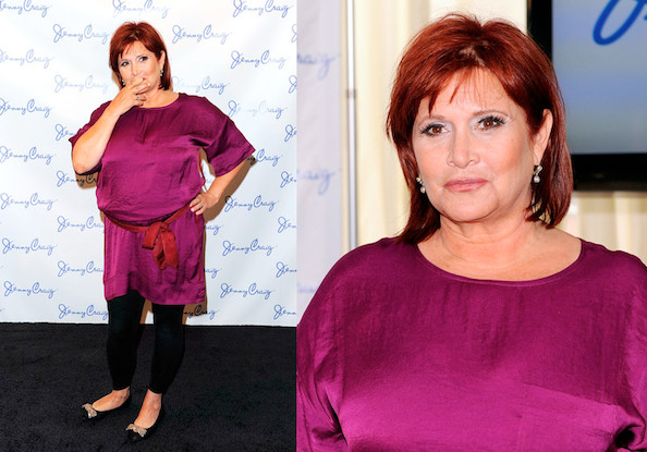 Carrie Fisher Is Jenny Craig's Newest Spokesperson