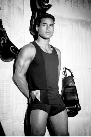 Mario Lopez Strips Down for New Underwear Line, RatedM