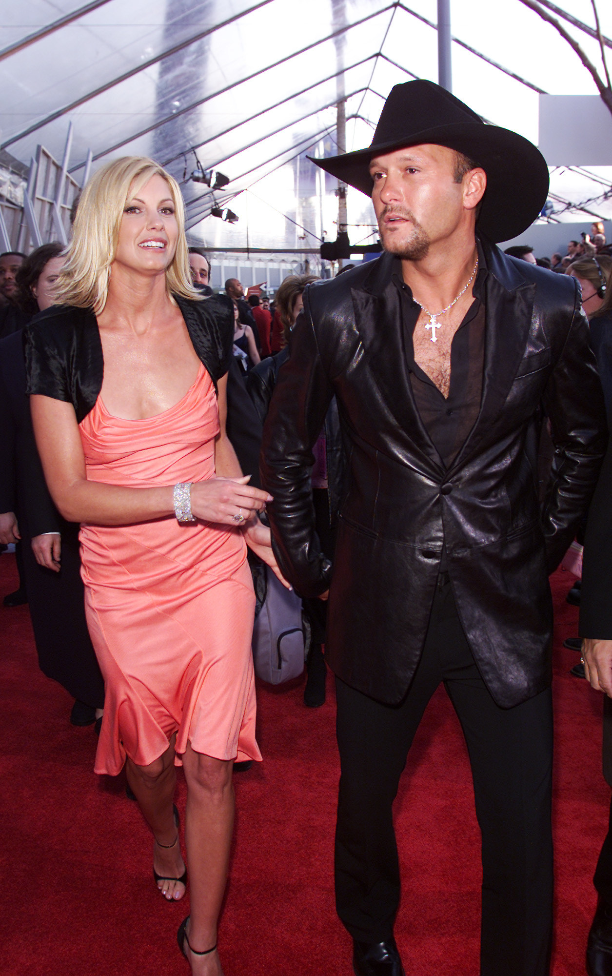 Faith Hill And Tim Mcgraw 2001 The Most Outrageous