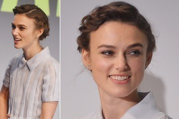 Hair Envy: Keira Knightley's Halo Braid