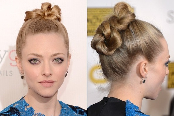How to DIY Amanda Seyfried's Double Twist