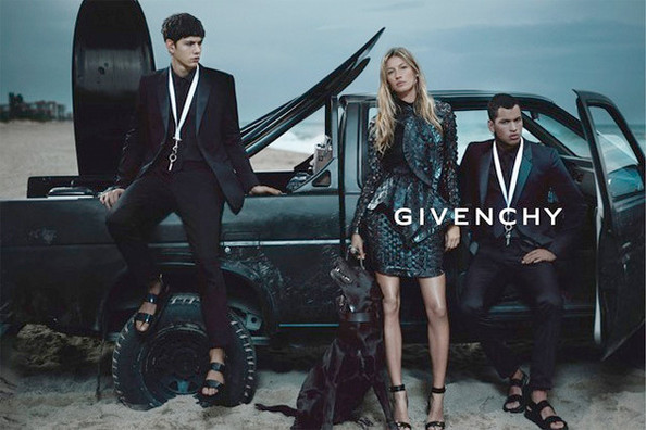 The Surf Is Stormy for Gisele and Givenchy