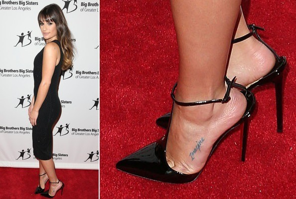 Lea Michele at the Big Brother Big Sisters 2012 Stars Gala