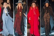 All The Gowns From Hedi Slimane's First Saint Laurent Show