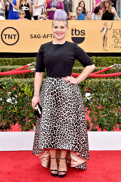 Kelly Osbourne in a Benedetta Bruzziches Top and an Elisabetta Franchi Skirt