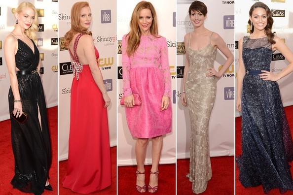 Critics' Choice Awards 2013 - Best & Worst Dressed