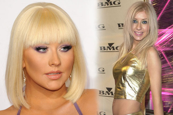 Fashion Flashback: Christina Aguilera Then & Now