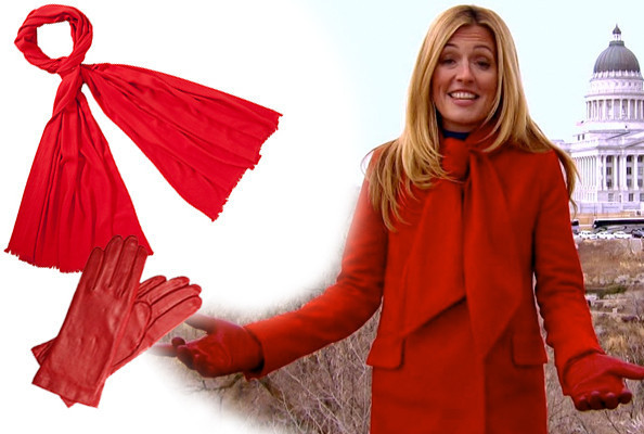 Cat Deeley's Winter Reds on 'So You Think You Can Dance'
