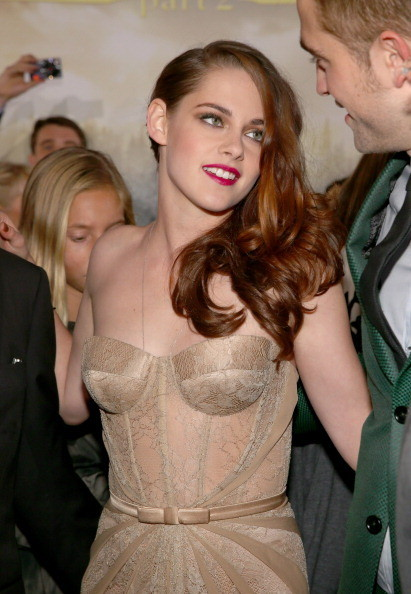 Kristen Stewart's See-Through Gown at the Breaking Dawn Part 2 Premiere