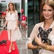Millie Mackintosh With a Puppy at the Prince's Trust Sunday Strut