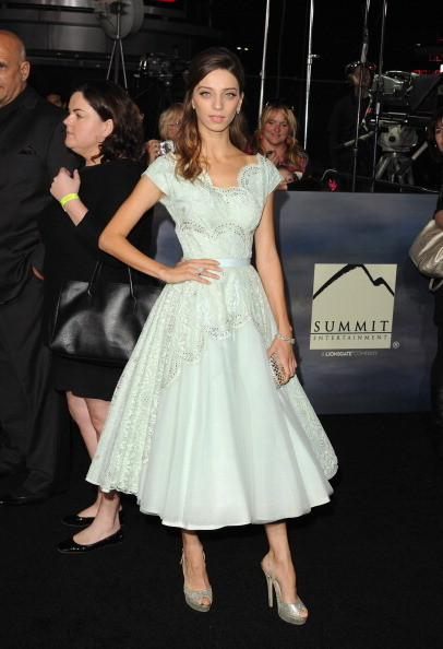 "Angela Sarafyan at 'The Twilight Saga: Breaking Dawn - Part 2"" Premiere"