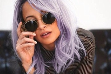 Hair Envy of the Day: Nicole Richie's Lilac Look