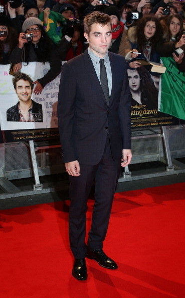 Robert Pattinson at the 'Twilight Saga: Breaking Dawn - Part 2' London Premiere
