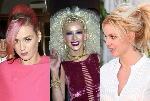 Bad Celebrity Hair Days