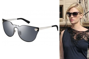 Mad Muse: January Jones in Versace Sunglasses