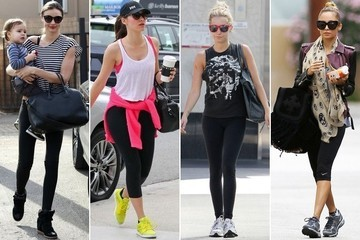 Celebrity Workout Style