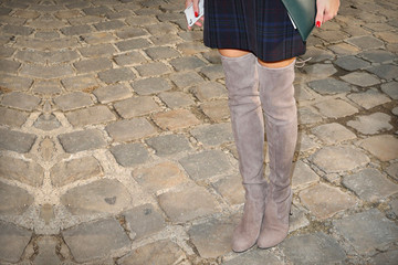 What to Wear: With Over-the-Knee Boots