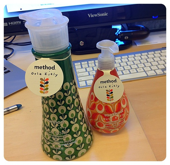 The Best Product That Landed on My Desk Today: Orla Kiely for Method Liquid Soaps!