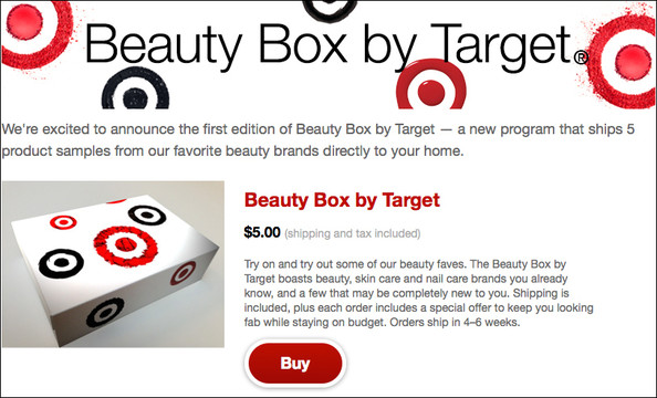 Target Is Launching a Beauty Box Program!