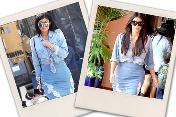 Which Kardashian Wore it Better?