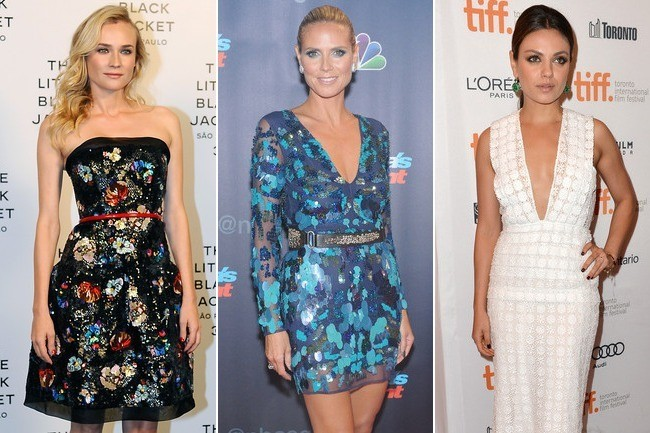 cocktail dresses off the red carpet look alikes