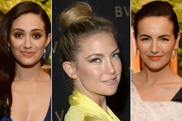 "Vote! Who Had the Prettiest Beauty Look at the ""Decades Of Glamour"" Oscar Party?"