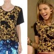 AnnaLynne McCord's Printed Top on '90210'