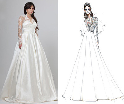 Designers Rush to Copy Kate Middleton's Wedding Dress
