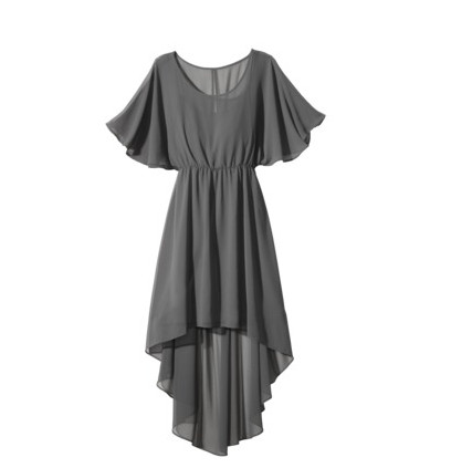 A Dolman Sleeve Dress
