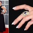 Kelly Osbourne's Nail Art at the 2013 Grammy Awards