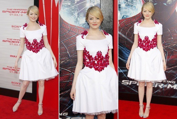 Emma Stone Wears Chanel to 'The Amazing Spiderman' Premiere